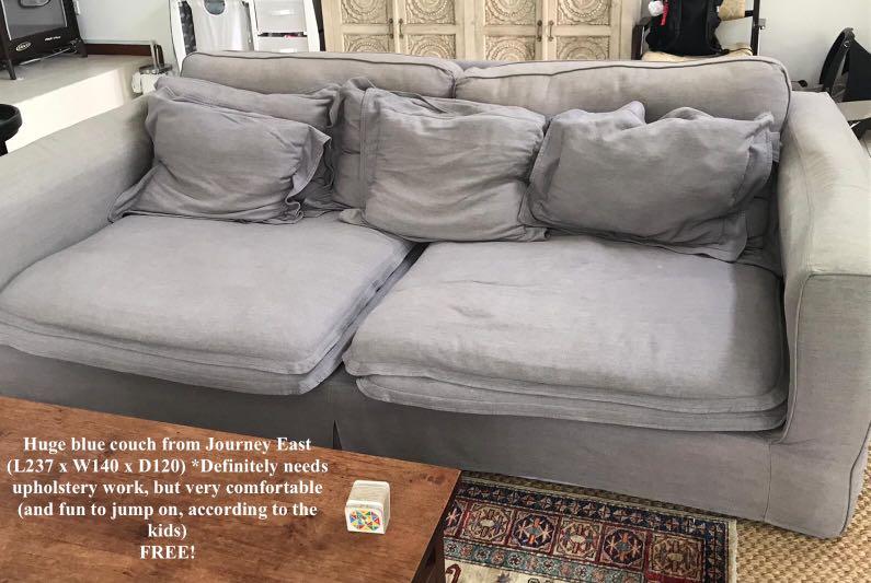 Blue Sofa Furniture Sofas On Carou