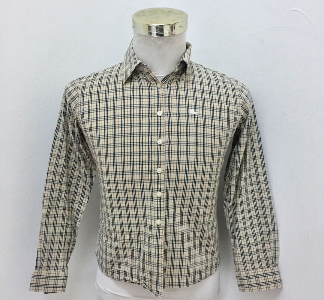 1ff44ce4 BURBERRY SHIRT, Men's Fashion, Clothes, Tops on Carousell