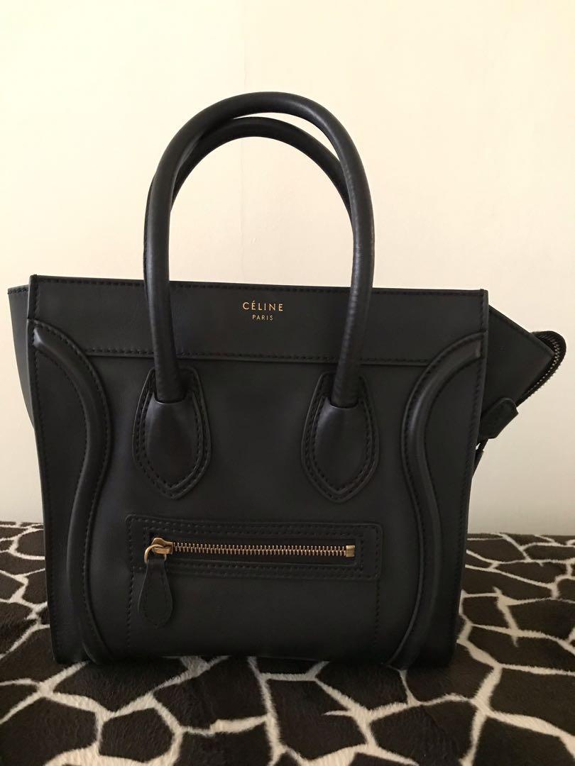 f0c9895931c CELINE MICRO LUGGAGE, Luxury, Bags   Wallets, Handbags on Carousell