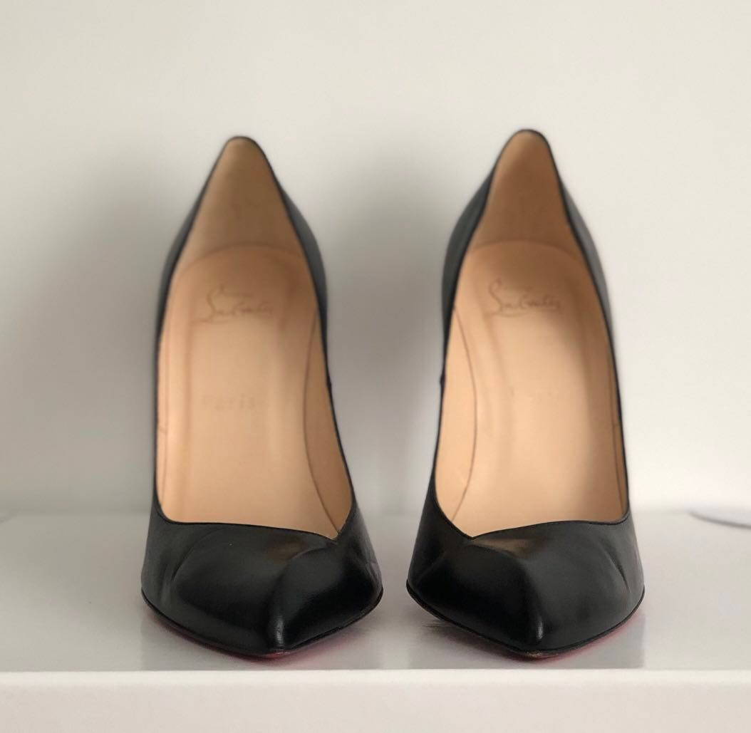 check out 8e8e6 27565 Christian Louboutin Black Corneille