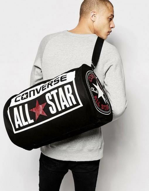 8c7bcaf95ea94 Converse Unisex All Star Legacy Duffel Sports Bag - Black or White ...