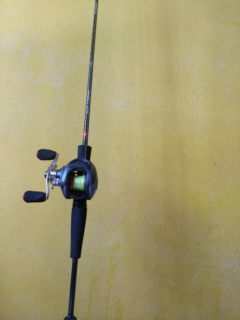 5be78454caa Daiwa Laguna X Baitcasting Rod and Reel, Sports, Sports & Games ...