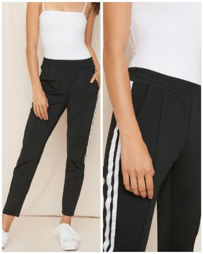 Garage high waisted track pants size small