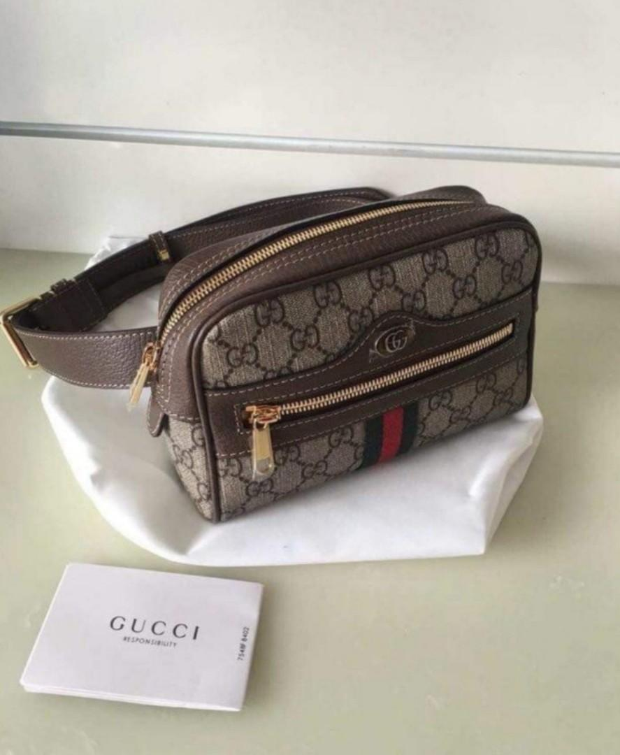 04ac87544 GUCCI Ophidia GG Supreme Small Belt Bag on Carousell
