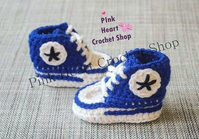 Handmade Baby Converse (made to order)