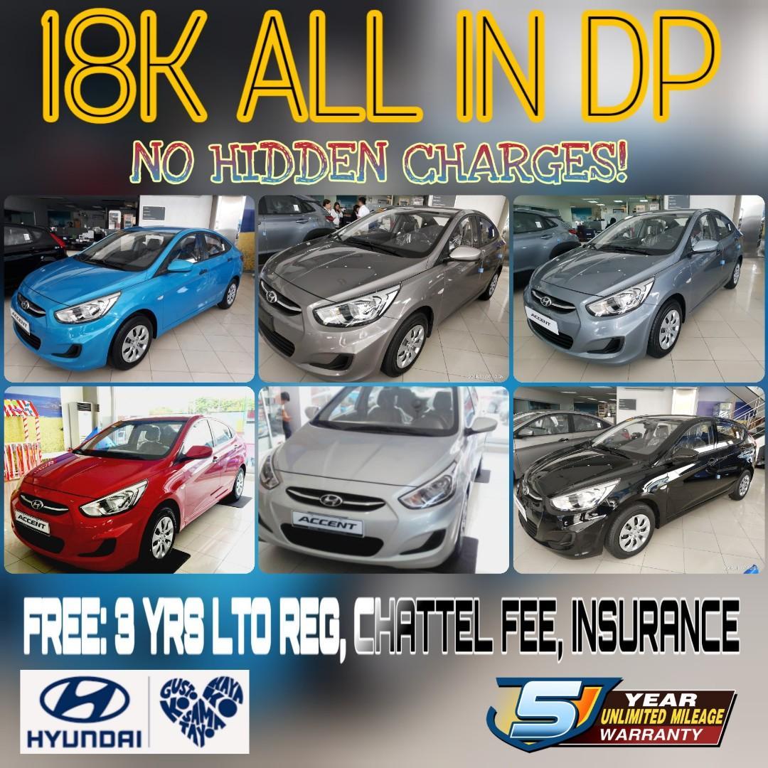 Hyundai Accent 18k Lowest ALL IN DP🆚Toyota Vios🆚Mitsubishi G4🆚Honda City🆚Suzuki Ciaz