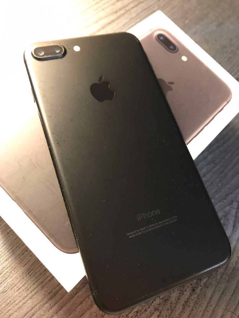 iPhone 7 Plus - 128GB (Jet Black) Unlocked