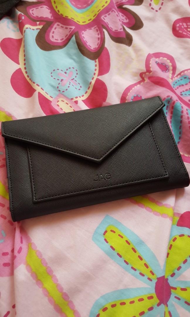 JAG black wallet