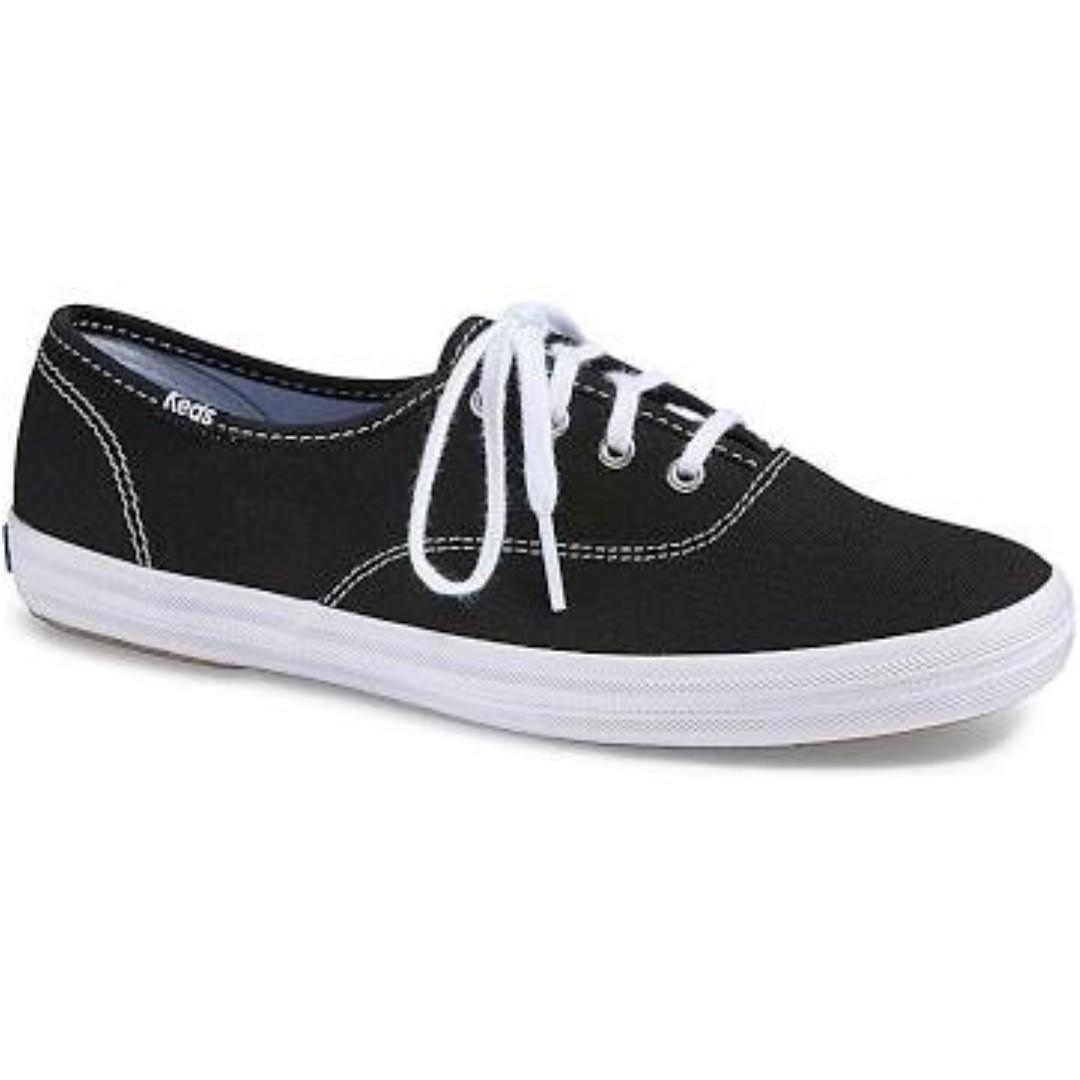 951af7e900268 Keds Champion Originals Canvas Sneakers WF34100 (Black)