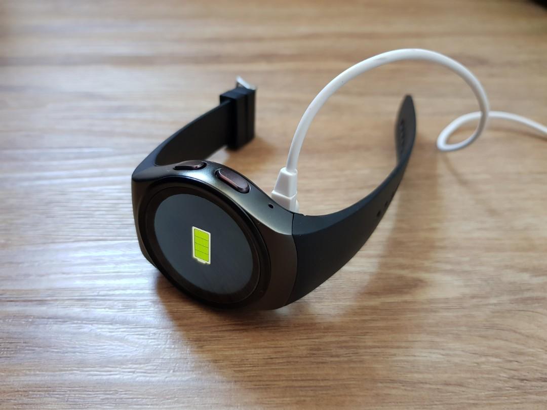 KINGWEAR KW18 smartwatch (Black), Electronics, Others on