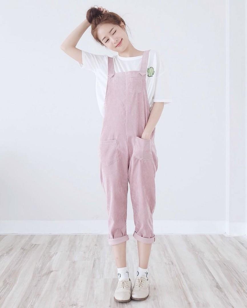 Korean Style Overalls