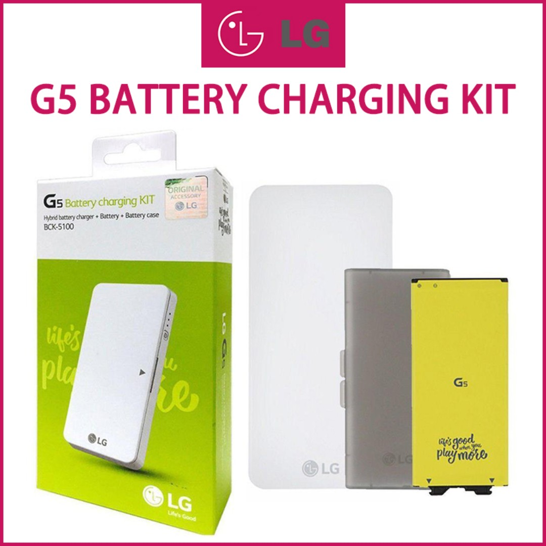54ed41742d23c5 LG G5 Battery Charging Kit BCK-5100, Mobile Phones & Tablets, Mobile ...