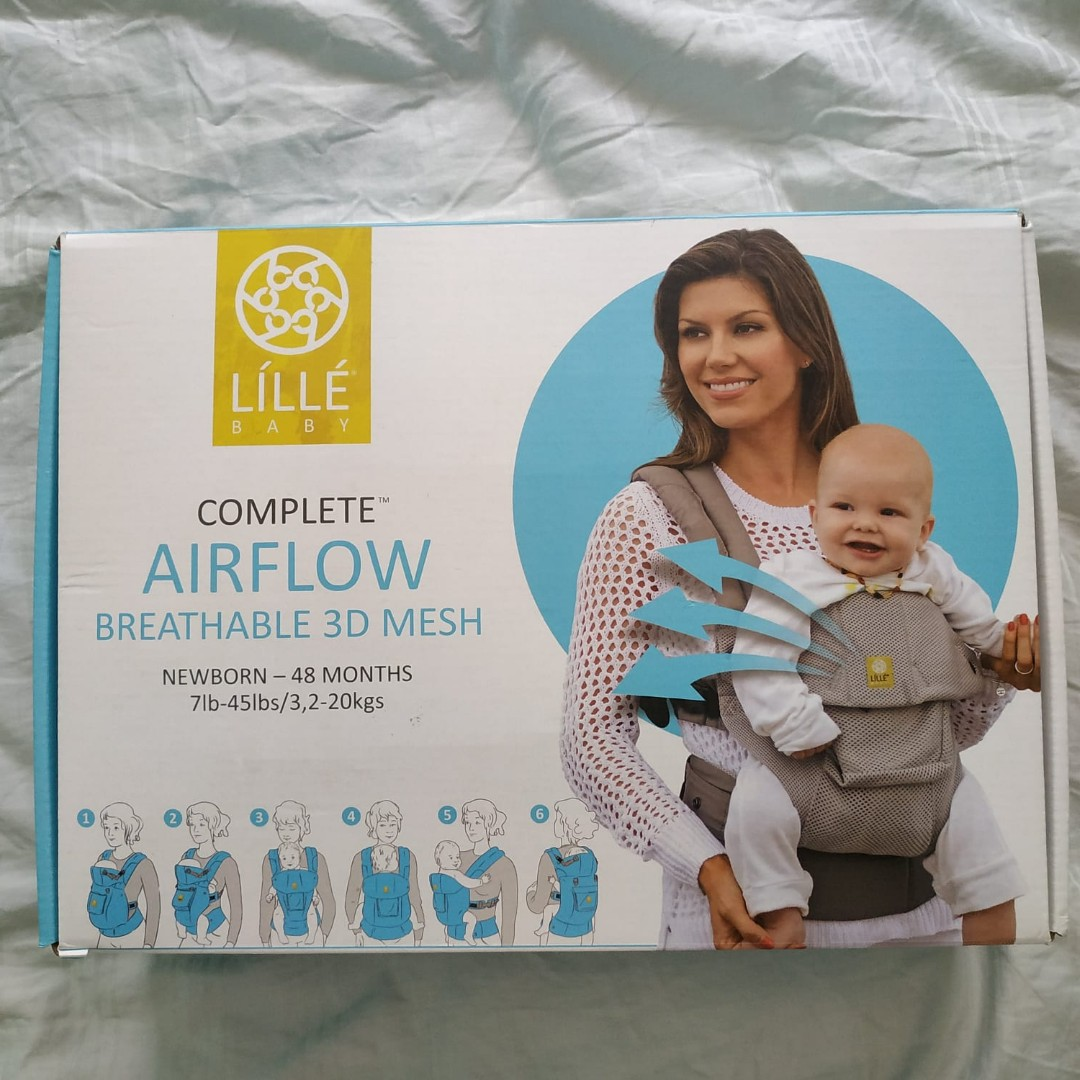 483e4cf68ca Lillebaby Airflow 360 6 position ergonomic baby carrier