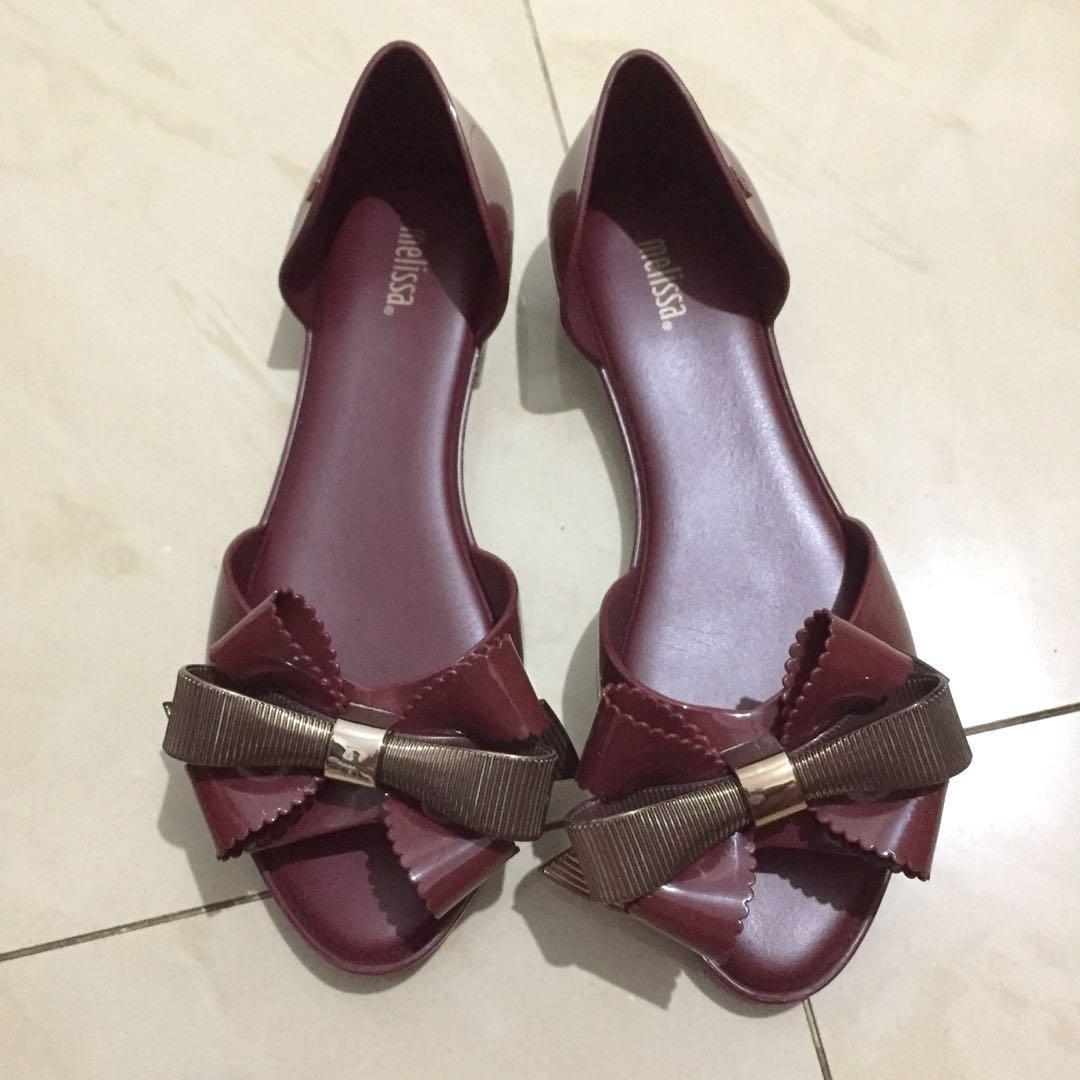 6a7fe7fac4892 Melissa Seduction III Flats, Women's Fashion, Women's Shoes on Carousell
