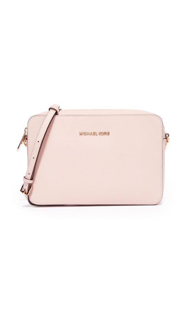 037cd9bc780a Michael Kors Soft Pink Crossbody Bag (Sale), Women's Fashion, Bags ...