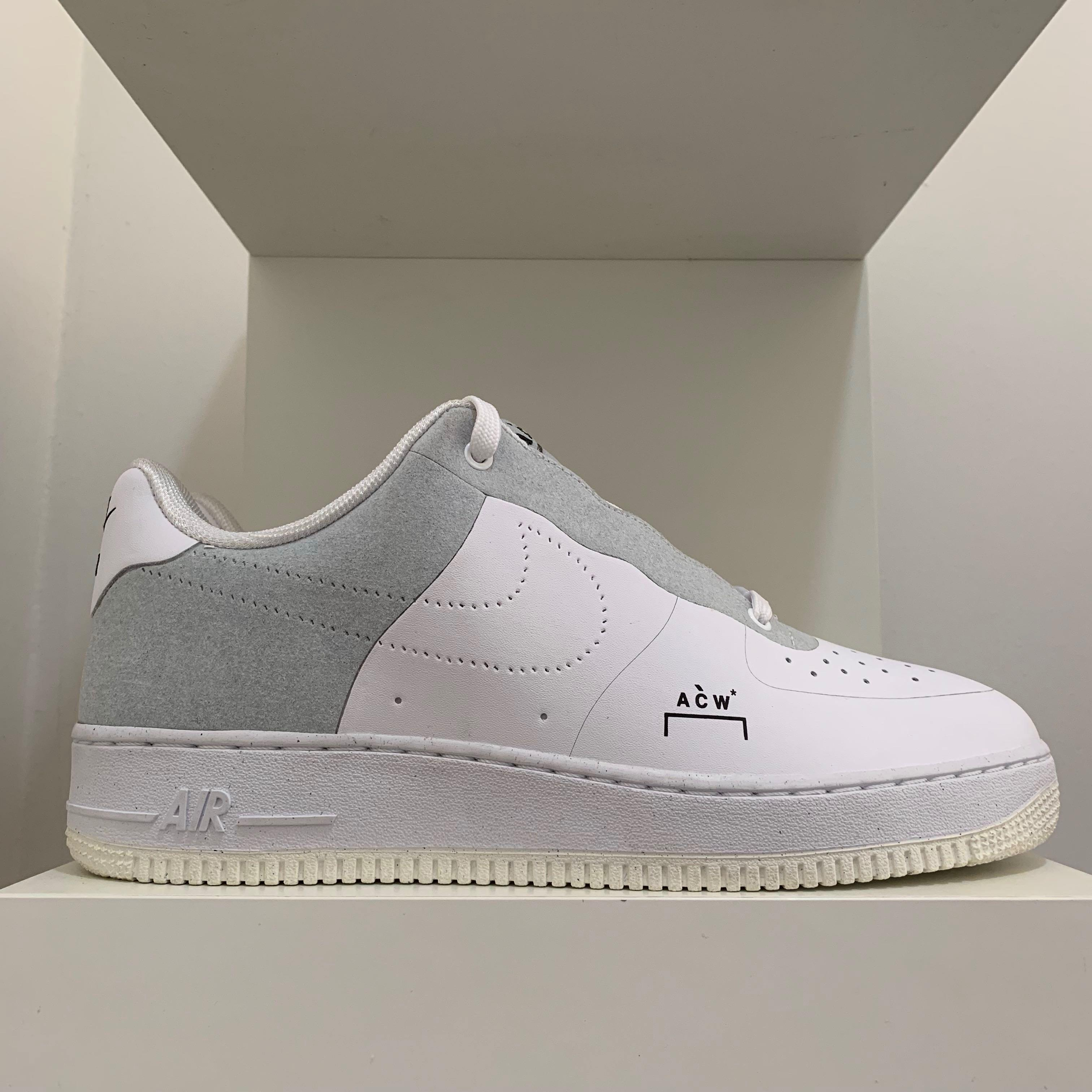 best cheap 1bb03 dd141 Nike Air Force 1 Low A Cold Wall White, Men's Fashion ...