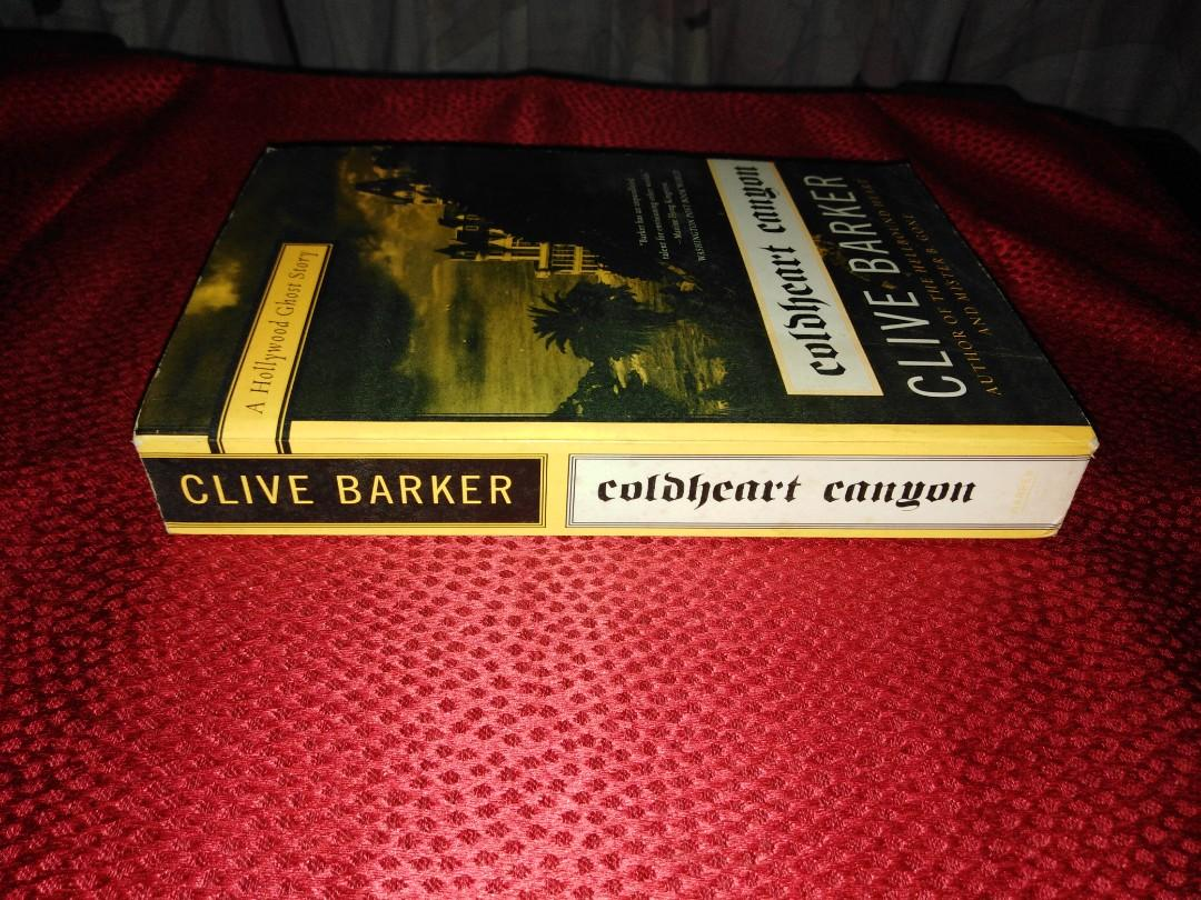 [Paranormal Erotic Fiction] COLDHEART CANYON by Clive Barker