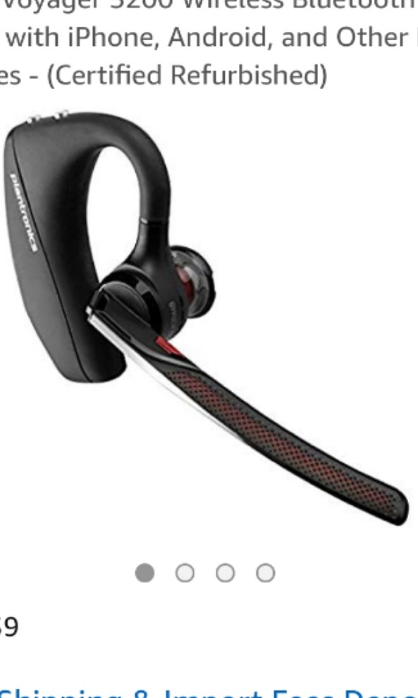 f924d7475e9 Plantronics voyager 5200 wireless headset, Electronics, Others on ...