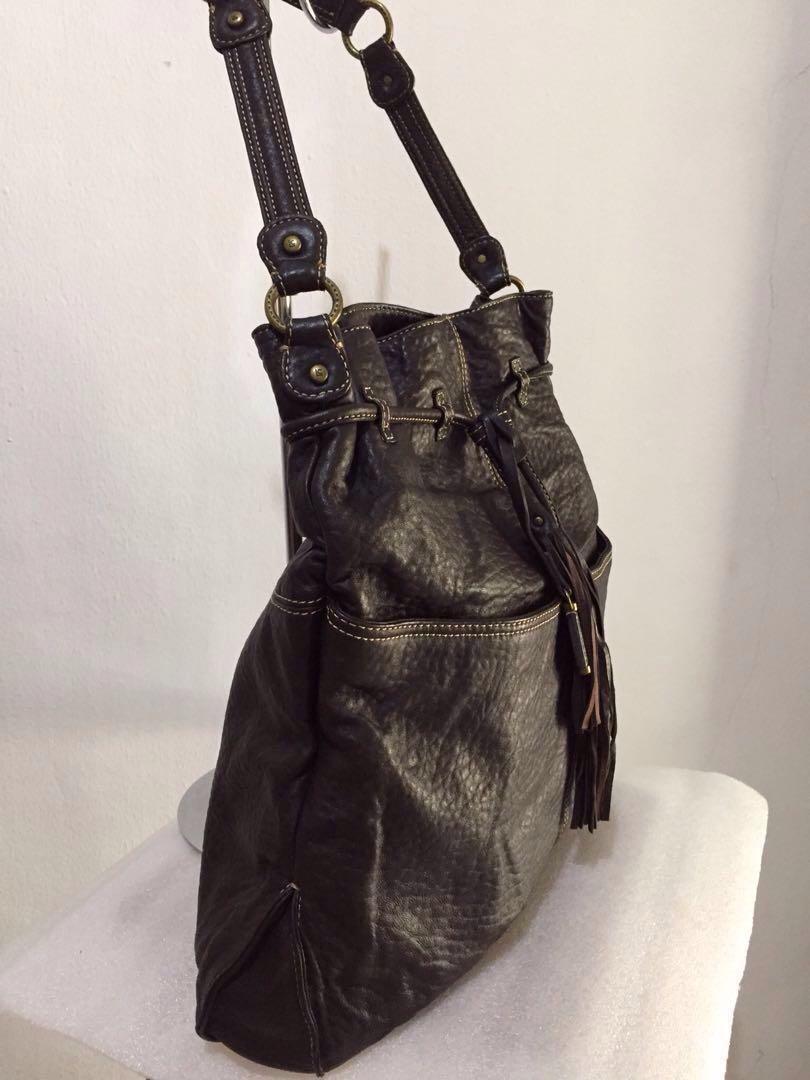 Preloved LIZ CLAIBORNE Authentic Leather Shoulder Bag