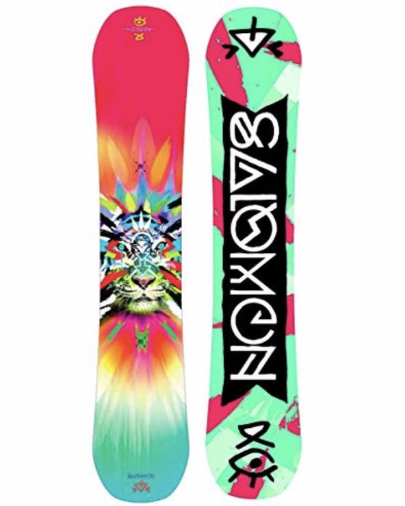 826841d748 Pro women / girl super light 133cm Salomon Gypsy Grom snowboard