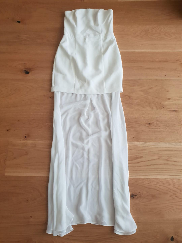 White dress Sz 8