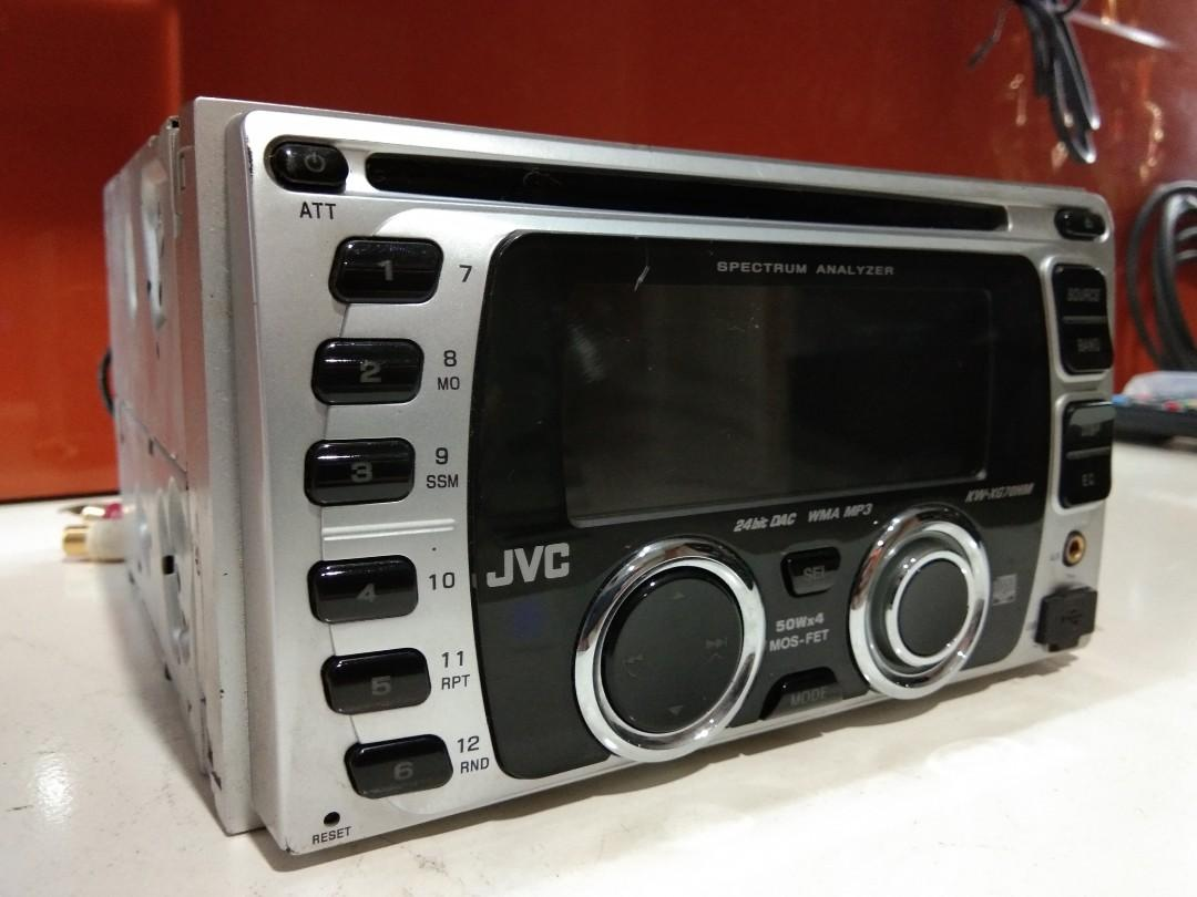 Tape mobil JVC, Auto Accessories on Carousell