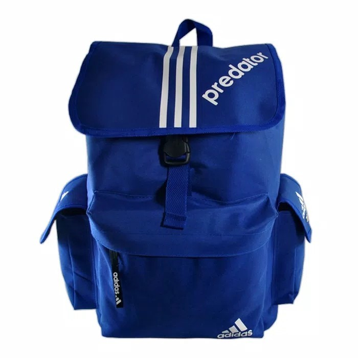 6ca36ddb608 Tas Ransel Adidas predator warna biru, Men's Fashion, Men's Bags ...