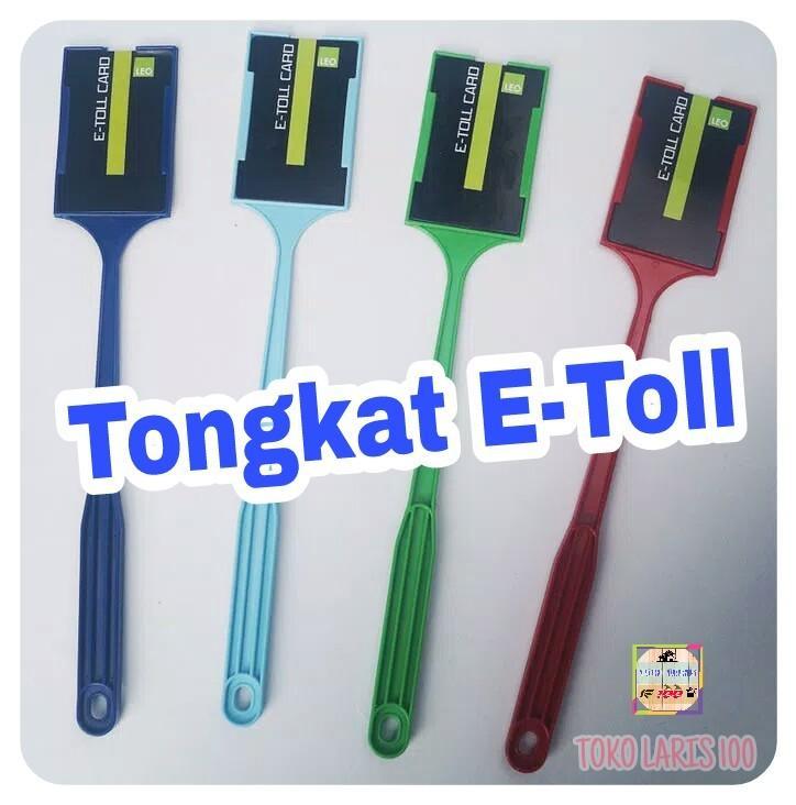 Tongtol Tongkat E-Toll eTol - Tongkat GTO - Stik Etol - BLUE WHITE - MURAH & BERKUALITAS