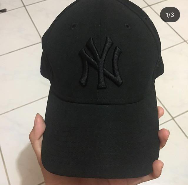Topi new era cap NY full black