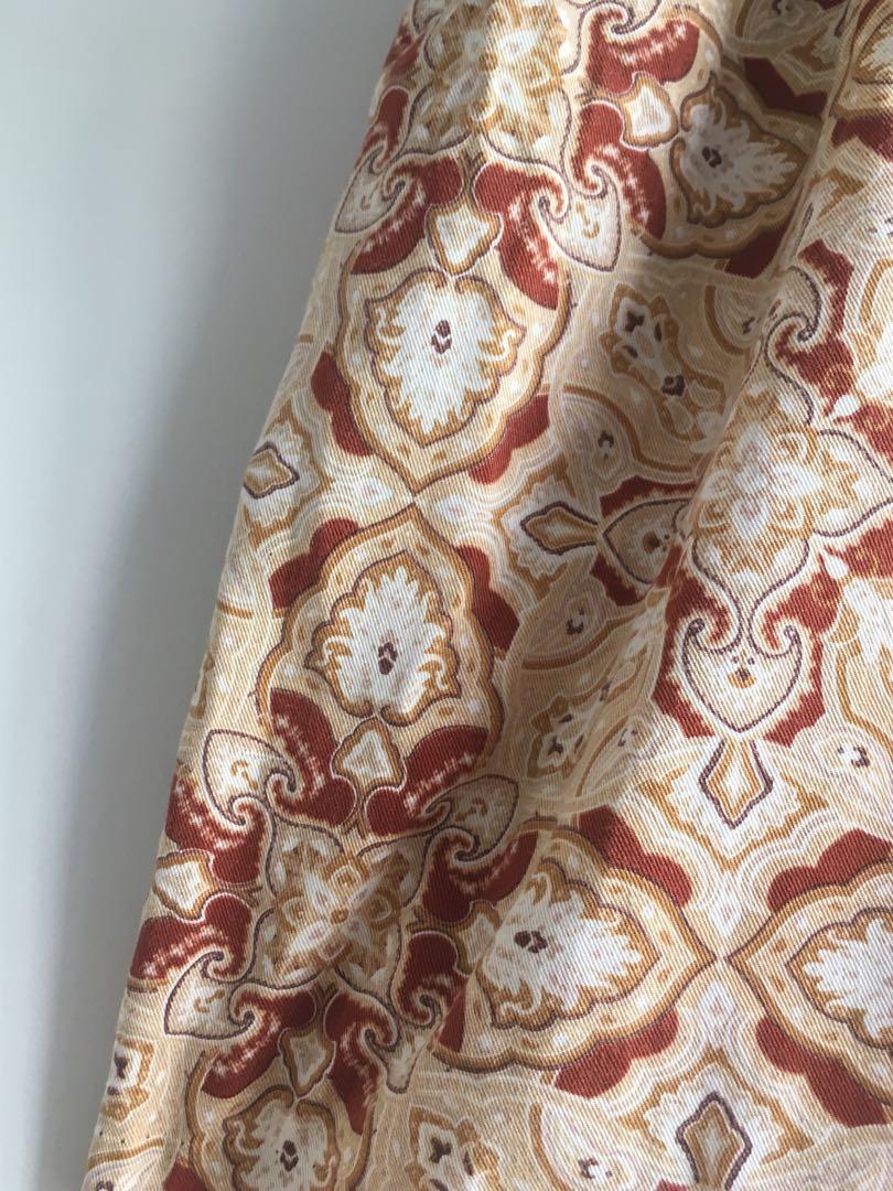Vintage bohemian style skirt