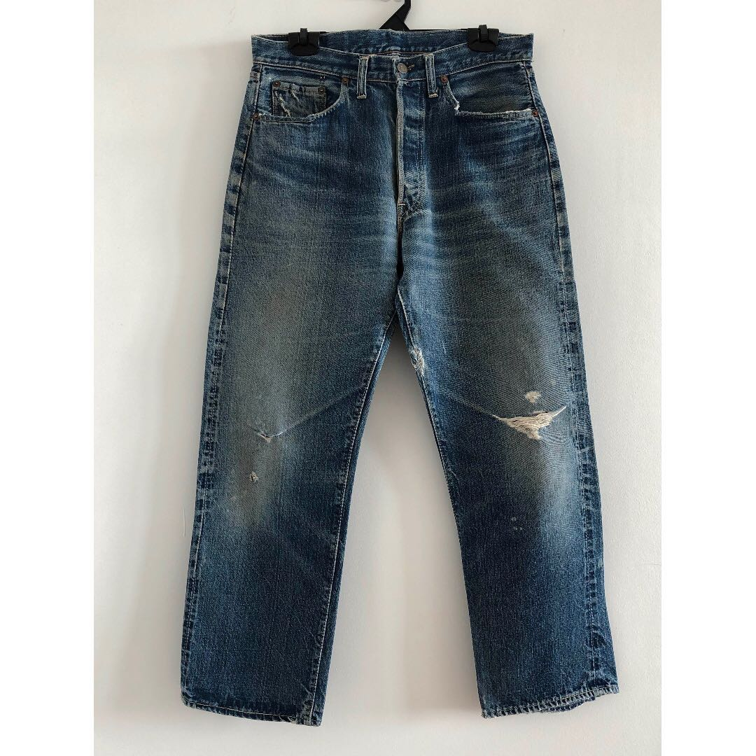 a11c3c78195 Vintage Levis Mens Jeans - 501 Big E (Pre-1965), Men's Fashion, Clothes,  Bottoms on Carousell