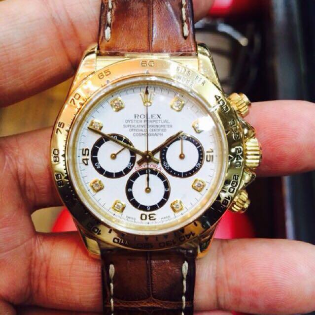 Wtb Rolex Daytona Diamond