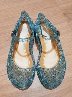 Frozen style Toddler Shoes 魔雪奇緣兒童鞋 EU26 99%new