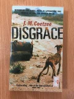 Disgrace by J M Coetzee