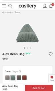🚚 Alex bean bag