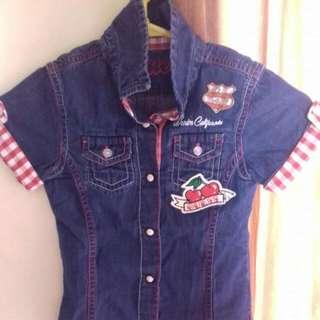 Baju Kemeja Jeans