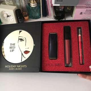 95%New Estée Lauder lip set