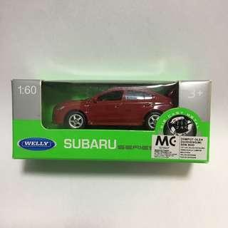 🚚 Subaru wrx sti welly 1:64