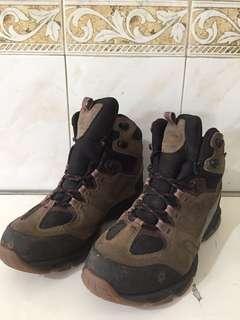 Sepatu gunung jack wolfskin ori