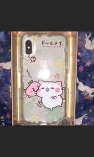 iphone X正版貓貓手機殻手機套