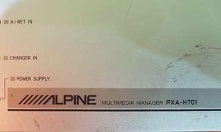 Crossover Alpine PXA-H701