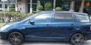 Toyota Wish 1.8A for rent - Renting cheap!