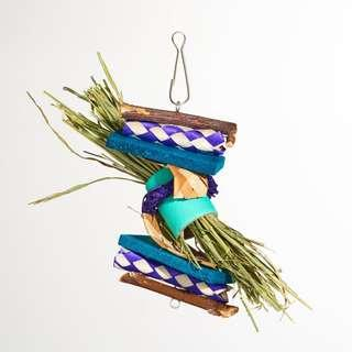 Hanging Chew Toy - Hay Snack