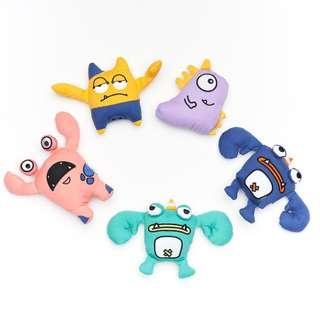 Touchdog Dog Toy - Monster Series