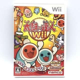 (中古) 原裝日版 Wii Game 太鼓之達人 1 音樂節奏遊戲 支援雙人同樂