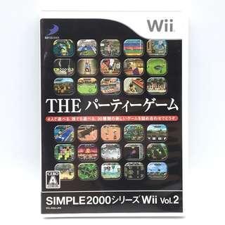 (中古) 原裝日版 Wii Game Simple 運動 支援四人同樂