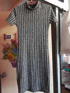 Gray Dress #febsale