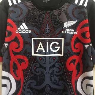 Rugby Jersey Maori All Blacks [NEW]