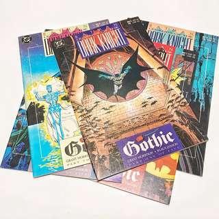 Batman: Legends Of The Dark Knight #6 - 10 / Gothic (1990)