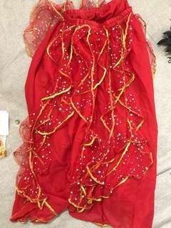 🚚 Full set Traditional dance dress Chinese / Indian costume Baju Kebaya